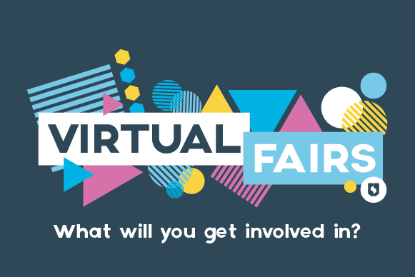Graphics writing Virtual Fairs